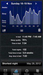 Sleep Cycle geeft je inzicht in je slaap en maakt je op het juiste moment wakker