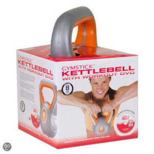 Kettlebell en dvd - Gymstick 8kg