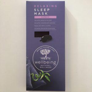 Slaapmasker Treets wellbeing (bamboo)