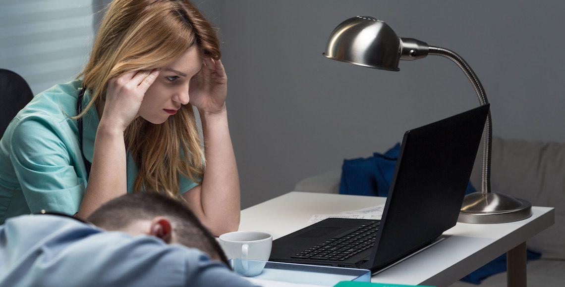 nachtdiensten slaapproblemen
